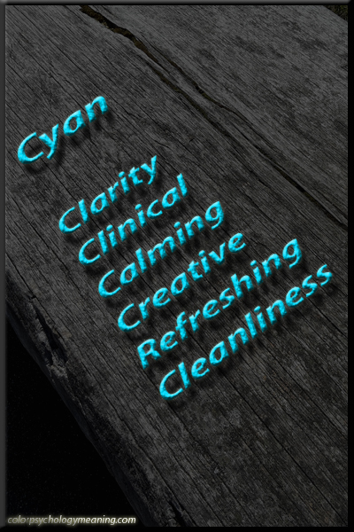 Cyan Color Meaning