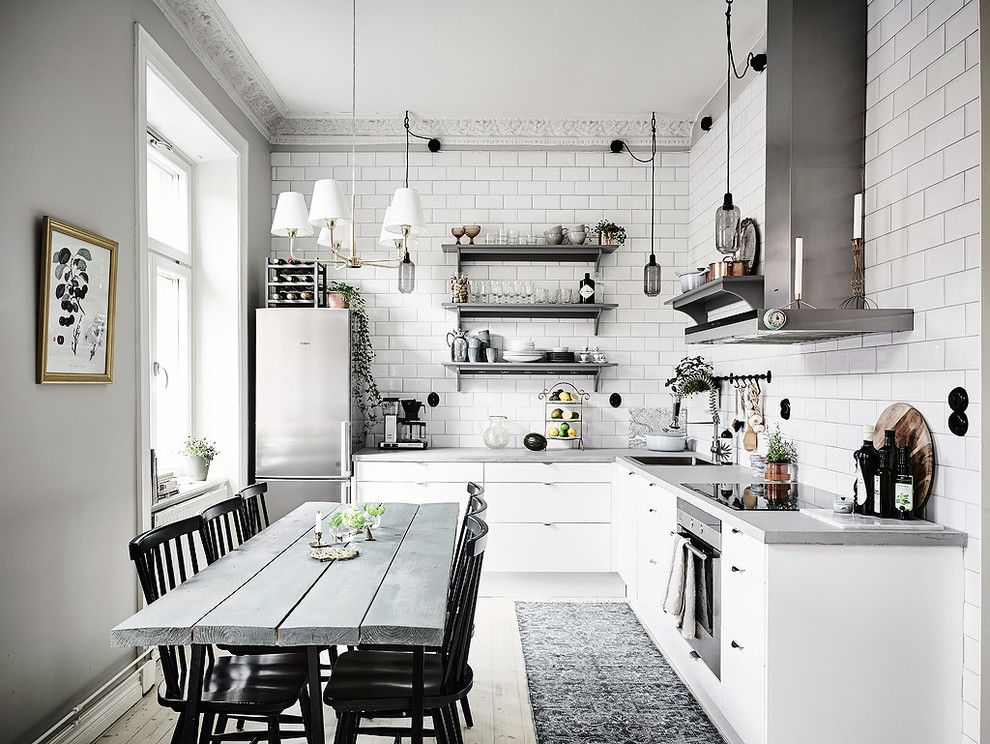 кухня в шведском стиле фото были астрономические все