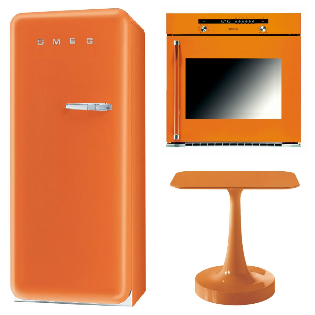 Tangerine Tango Kitchen Products